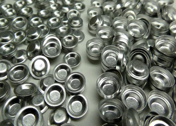 aluminum dsc hermetic sample pan lid kit