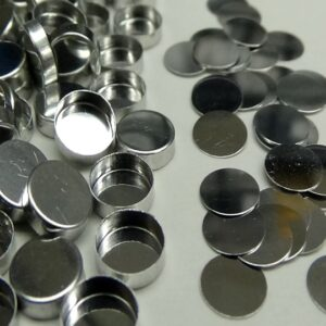 shimadzu 20152943 aluminum sample pans lids