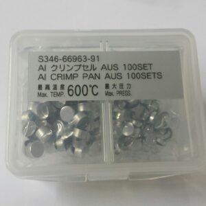 shimadzu 3466696391 aluminum pan lid set