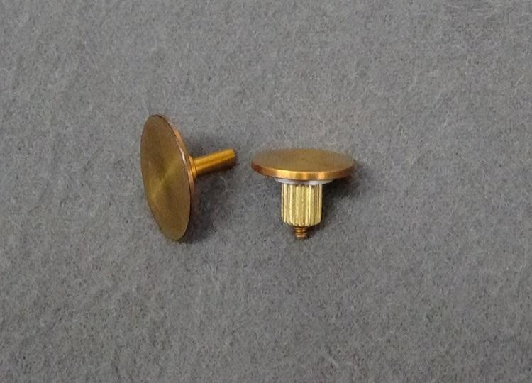 perkinelmer n5390145 15mm ss parallel plate top bottom