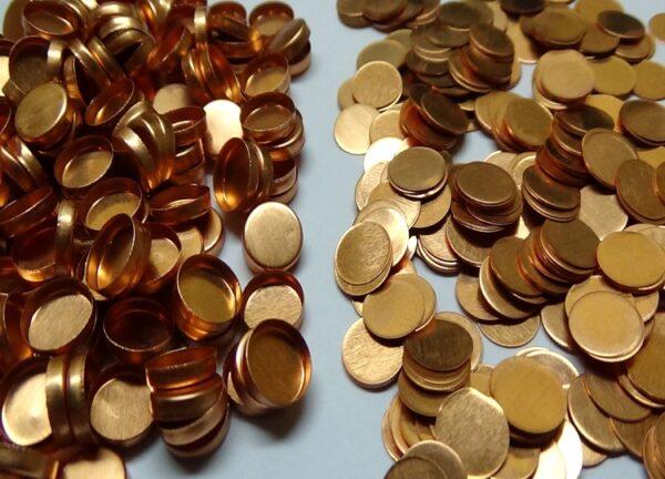 original perkinelmer 03190026 copper sample pans lids